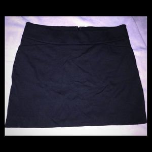 White Black House Market black skirt